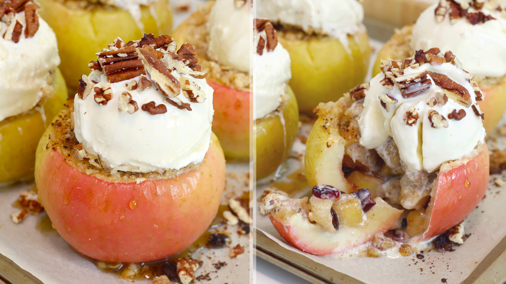 apple sundaes